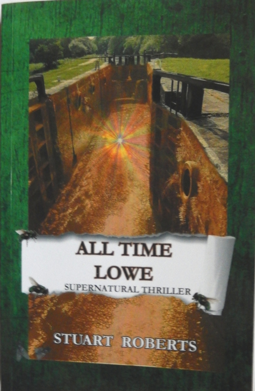 All Time Lowe written by Stuart Roberts Front cover of book